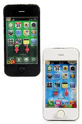 2x Spielzeug Smartphone WASSERSPIEL Geduldspiel schwarz & weiss Kinder Handy