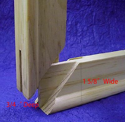 """Pair of  Canvas Stretcher Bars Strips 6 ,8,10,12,14,16,18,20,24,30,36,48,60,72"""" 2"""