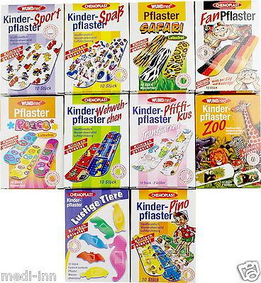 Kinderpflaster Pflaster für Kinder verschiedene Motive von Wundmed