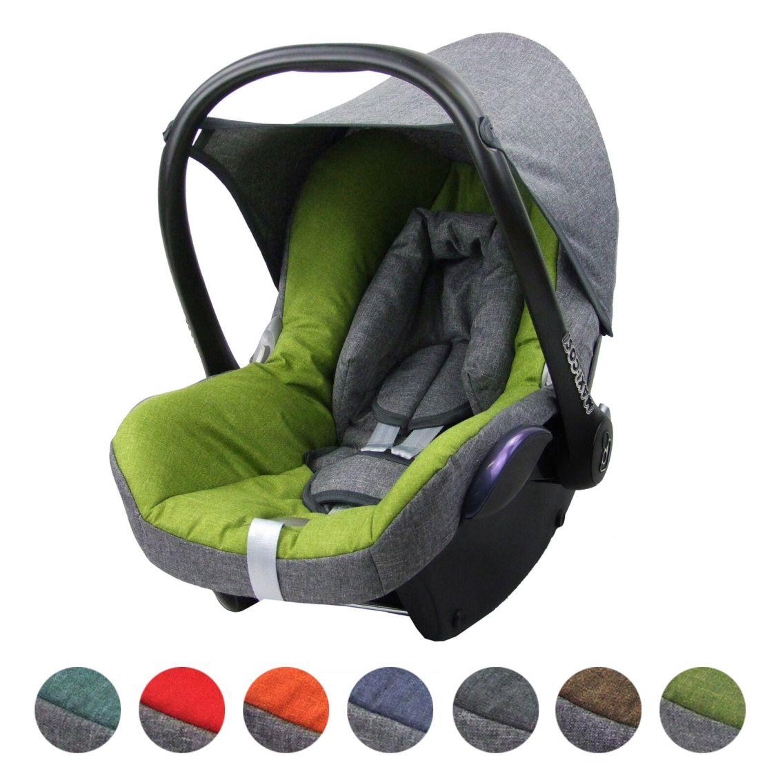 BAMBINIWELT Ersatzbezug Bezug für die Babyschale Maxi-Cosi CabrioFix MELIERT