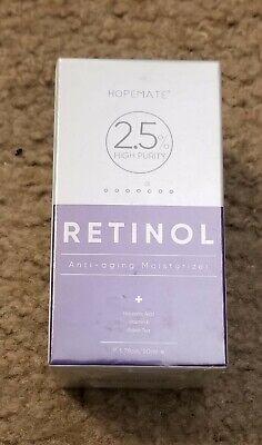 HOPEMATE Premium Retinol Cream, Anti-Aging Moisturizer L 2.5% Face & Eye