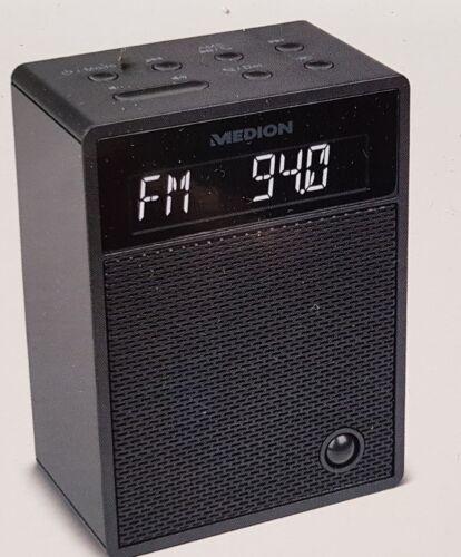 Medion MD 47002 Steckdosenradio | Radio | Bluetooth | Bewegungssensor | Schwarz