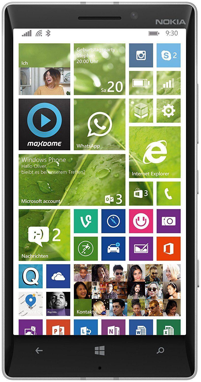 Microsoft Lumia 930 Smartphone 5 Zoll (12,7 cm) 32 GB Windows 8.1