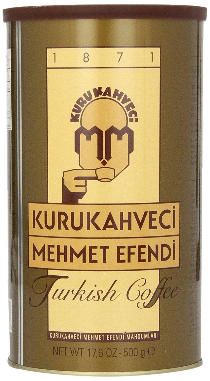 Mehmet Efendi türkischer Kaffee 500 g Mokka von Kurukahveci fein Gemahlen Kahve