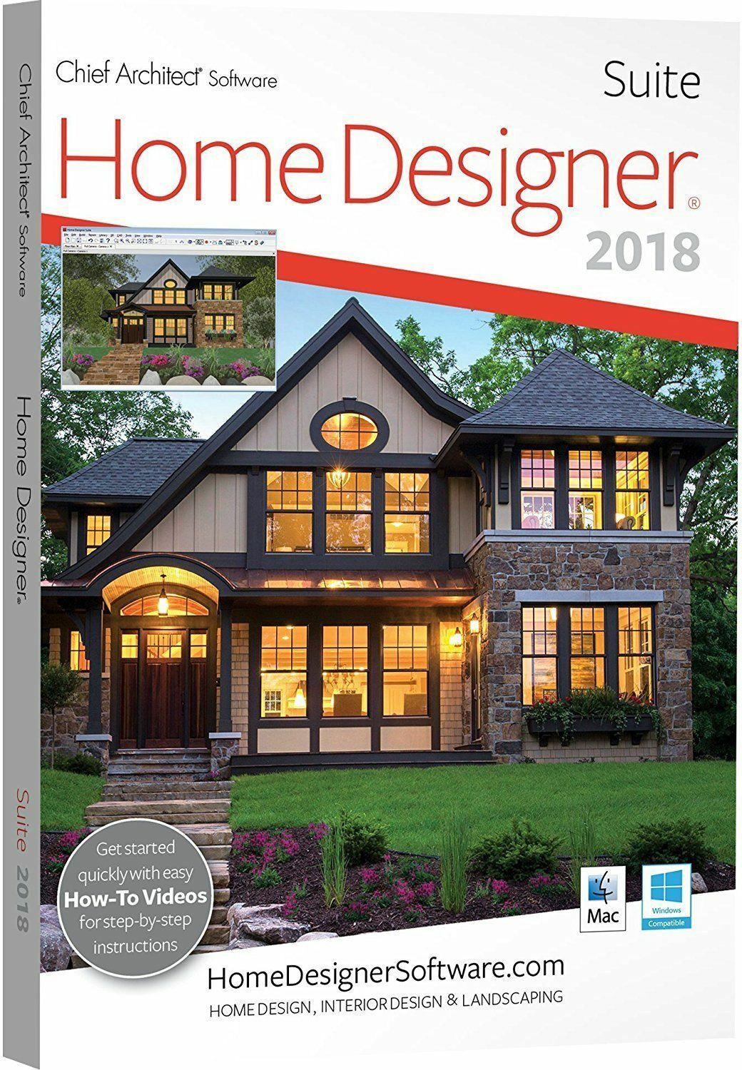 Genial Best Kitchen Gallery: Home Designer Suite Chief Architect Software 2018 Dvd  Ebay Of Home Designer
