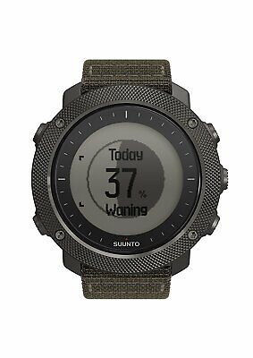 Suunto Traverse Alpha Sport GPS Military Outdoor Watch Foliage Green SS022292000
