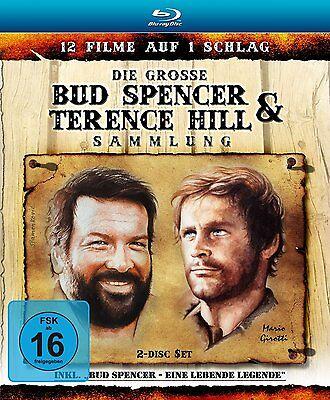 Blu-ray-Box*Die große Bud Spencer&Terence Hill Sammlung*12 Filme*NEU OVP-2 Disc