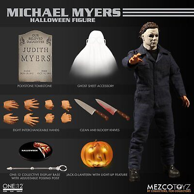 """Mezco Toyz One:12 Collective Michael Myers Halloween 6"""" Figure Brand New In Hand"""