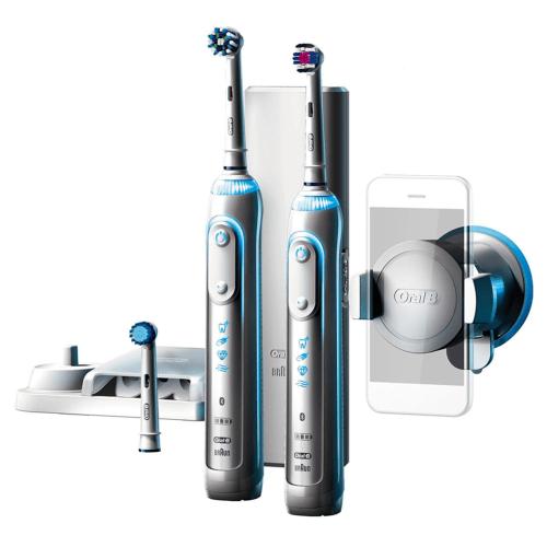 Braun Oral-B Genius 8900 Elektrische Zahnbürste mit 2. Handstück + Bluetooth