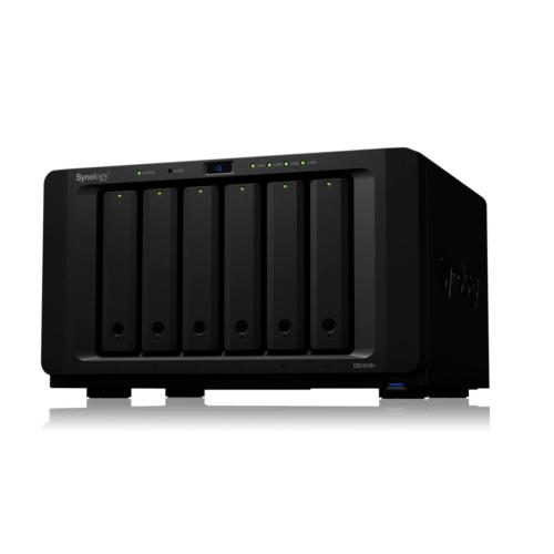 Synology Diskstation DS1618+ NAS System 6-Bay 5 Jahre Garantie