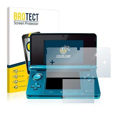 Panzerfolie Nintendo 3DS Schutzpanzer Glasfolie Schutzglas Displayschutzfolie