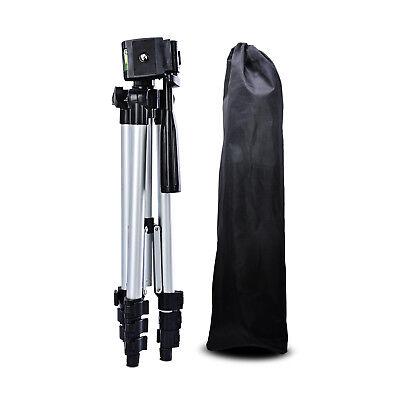 Fotostativ Kamerastativ Alu Dreibein-Stativ Tasche mit Handy-Halterung 1055mm DE