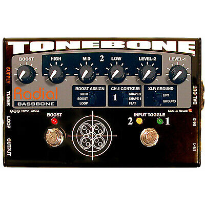 Radial Tonebone Bassbone Bass Preamp Pedal