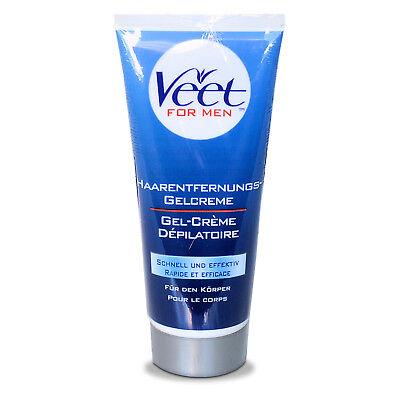 Veet for Men Enthaarungscreme Rasieren bedingt im Intimbereich Achseln haarlos