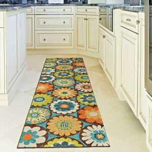Details About Kitchen Rugs Carpet Area Rug Runners Outdoor Carpet Floral Patio Runner Rugs
