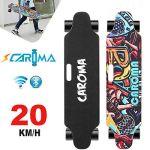 "CAROMA 36"" Electric Skateboard 350W*2 Dual Motors 8 Mile Range Longboard _NEW!"