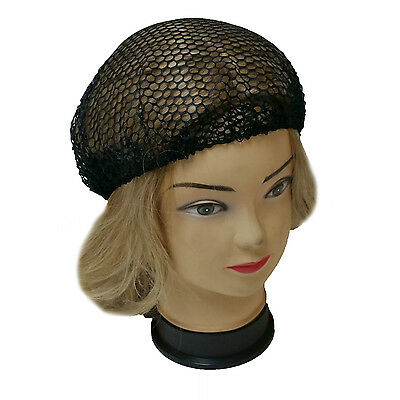 2 PCS Black Stretchable Elastic Hair Nets snood wig cap mesh new cosplay