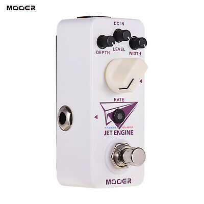 Mooer Jet Engine Digital Multi-Frequency Flanger Pedal Electric Guitar M2B7