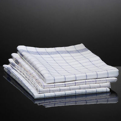 5er Set Geschirrtücher Blau / Küchentücher / Küchenhandtuch 100% Baumwolle NEU