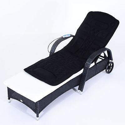 HOMCOM Massagematte Massageauflage Heizdecke Massage Matte mit Wärmefunktion