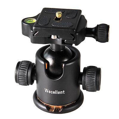 Panorama Kamera Kugelkopf Stativkopf Belastung bis 8KG mit Schnellwechselplatte