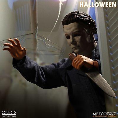 One:12 Collective Halloween Michael Myers figure~Horror~1978 movie~Mezco~NIB