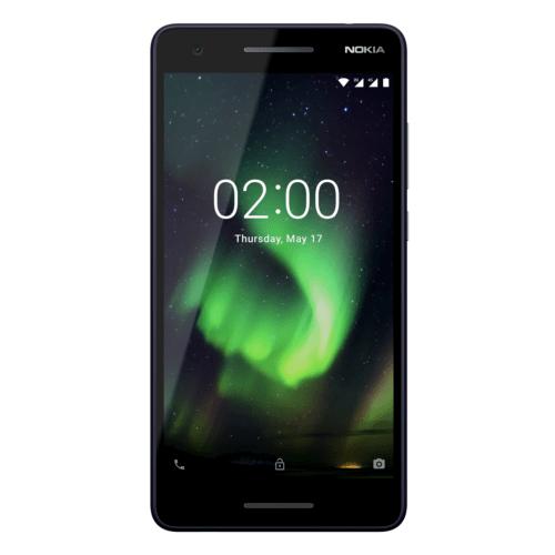 Nokia 2.1 (2018) Dual-SIM blau silber Android™ 8 Go Smartphone