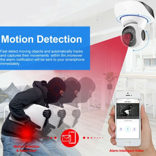 1080P HD Wireless IP Security Camera Indoor CCTV Home Smart Wifi Baby Monitor 7