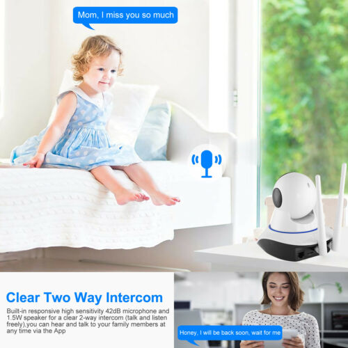 1080P HD Wireless IP Security Camera Indoor CCTV Home Smart Wifi Baby Monitor 4