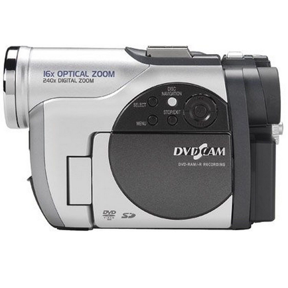 Hitachi DVD camcorder 16x Optischer Zoom 240x  digitaler Zoom