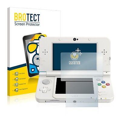 2x Displayschutzfolie Matt für Nintendo New 3DS Schutzfolie Displayfolie Folie