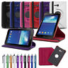 """Folio PU Leather Case Stand Cover For Samsung Galaxy Tab 3 Lite 7.0 7"""" SM-T110"""