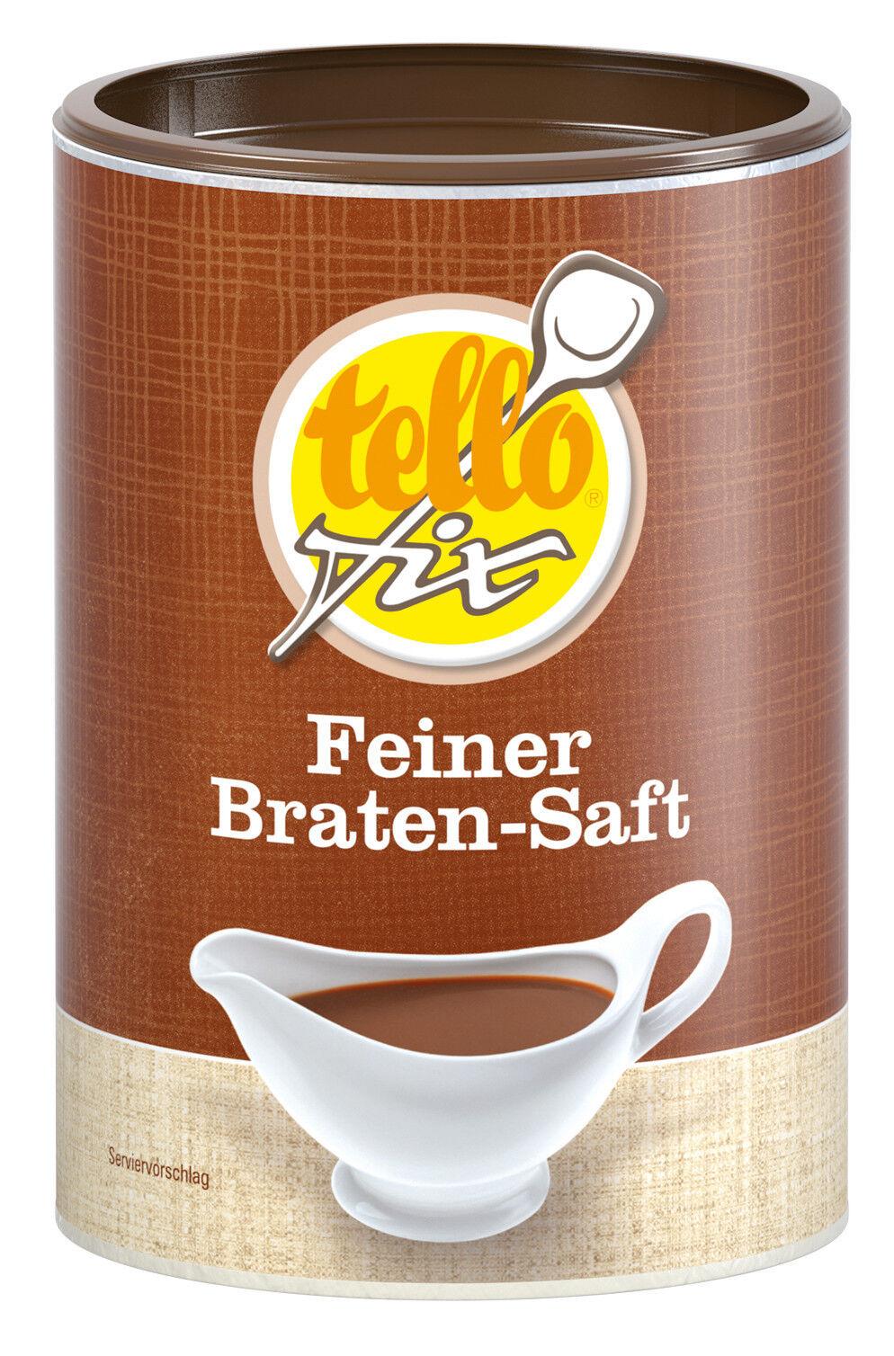 tellofix Feiner Braten-Saft 200 g (2 l) dunkle Bratensoße m. Fleischnote