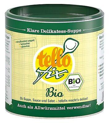 (EUR 22,32/kg) tellofix BIO Gemüsebrühe & Allwürzmittel o. GSV vegan (340 g)