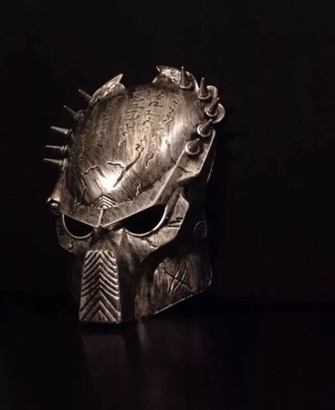 Predator Mask AVP Alien Hunter Halloween Costume Adult