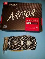 MSI Radeon RX 570 4GB GDDR5 Video Cards (RX 570 ARMOR 4G OC)
