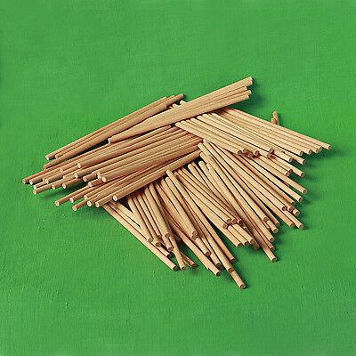 Lollipop Sticks, Cake Pop Sticks,Waffelstiele aus Buche,15 cm x 0,4 cm o. 0,5 cm