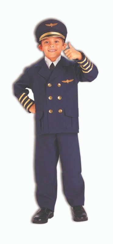 Forum Novelties Airline Airplane Pilot Captain Childrens Halloween Costume 74511