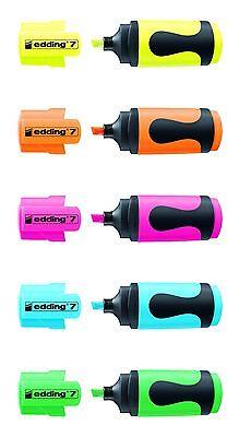 edding 7 Textmarker mini highlighter 1-3mm Farbe wählbar
