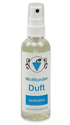 WcWunder Toiletten - Duft, 100ml PET-Flasche, WC-Frische Lufterfrischer Parfüm