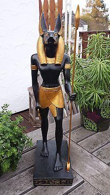 Anubis Totengott Figur Deko Ägypten ägyptische Statue Skulptur Dekoration Gott