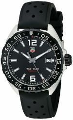 New Tag Heuer Formula 1 One WAZ1110.FT8023 Black Rubber Strap Mens 41mm Watch
