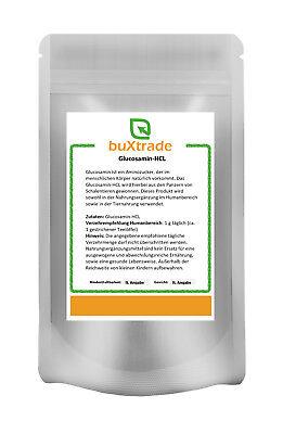 100 g Glucosamin HCL Pulver   Glucosamine   Fitness   Glucosaminsulfat 0,1kg