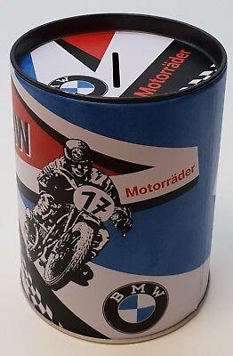 Nostalgic Art Spardose BMW Motorcycles Sparbüchse Money Box Nostalgie Dose