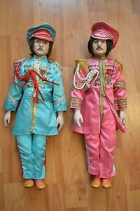 beatles sgt pepper porcelain dolls limited edition 1987 star