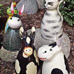 Dekoration Zaunhocker Frosch Schild Bin Im Garten Gartner Gelb Metall Skulptur Gartendeko Kabtel Mk
