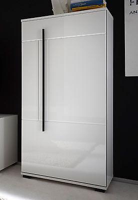 Stauraumschrank Sideboard Kommode Anrichte Schrank Cantara 60cm weiß 509066