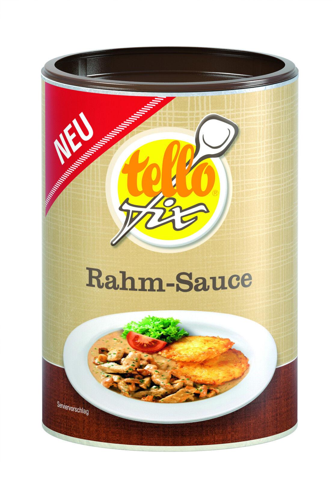 (EUR 17,59/kg) tellofix Rahm-Sauce helle Bratensoße o. GSV (170 g/1,5 l)