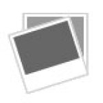 Round Ottoman Storage Bench Foot Stool Footrest Padded Seat Faux Linen Modern Ebay