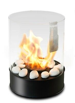 Tabletop Fireplace - Modern Portable Bioethanol - Chantico Glassfire by Planika